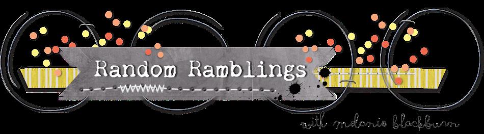Random Ramblings...