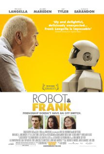 Robot &#038; Frank (2012 &#8211; Peter Sarsgaard, Frank Langella and Susan Sarandon)