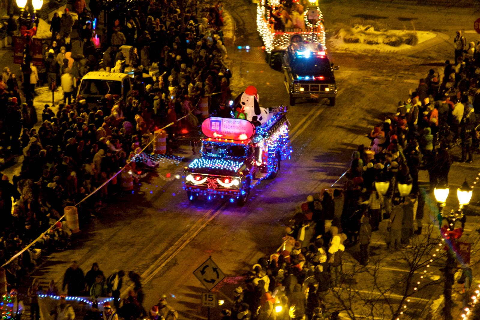 Silverbells in the City Parade 2014. Lansing, Michigan. Photo by Tammy Sue Allen Photography.