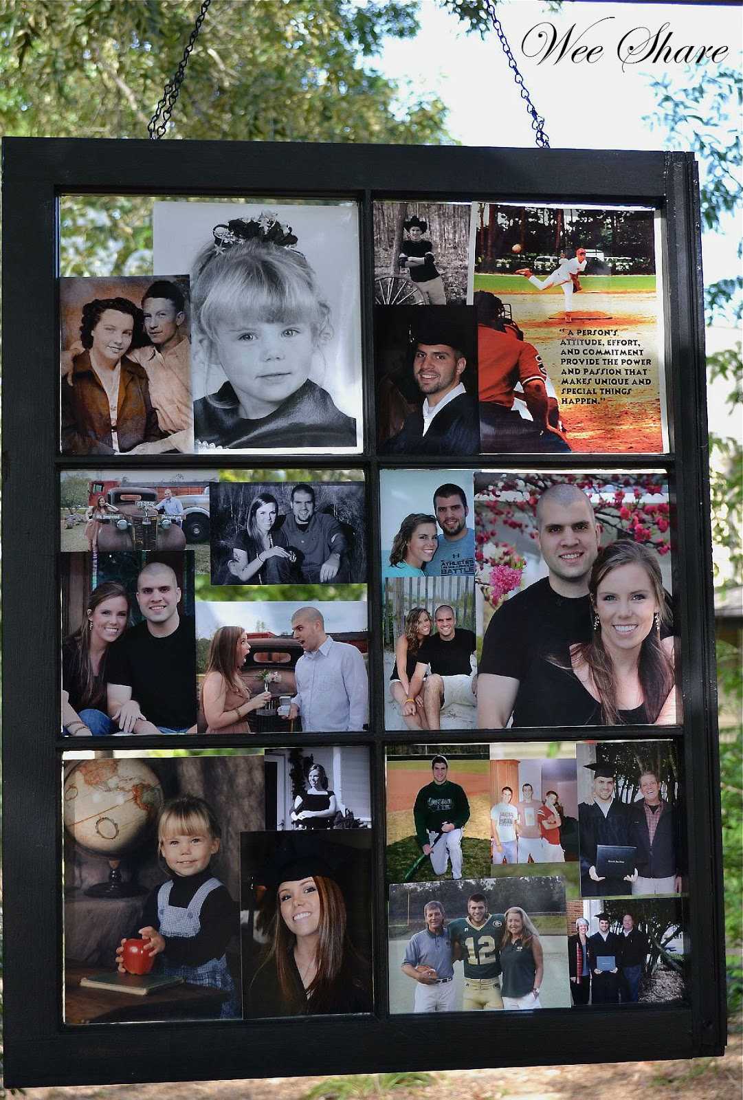 2012 Wedding Photos: Window Photo Collage | Wee Share