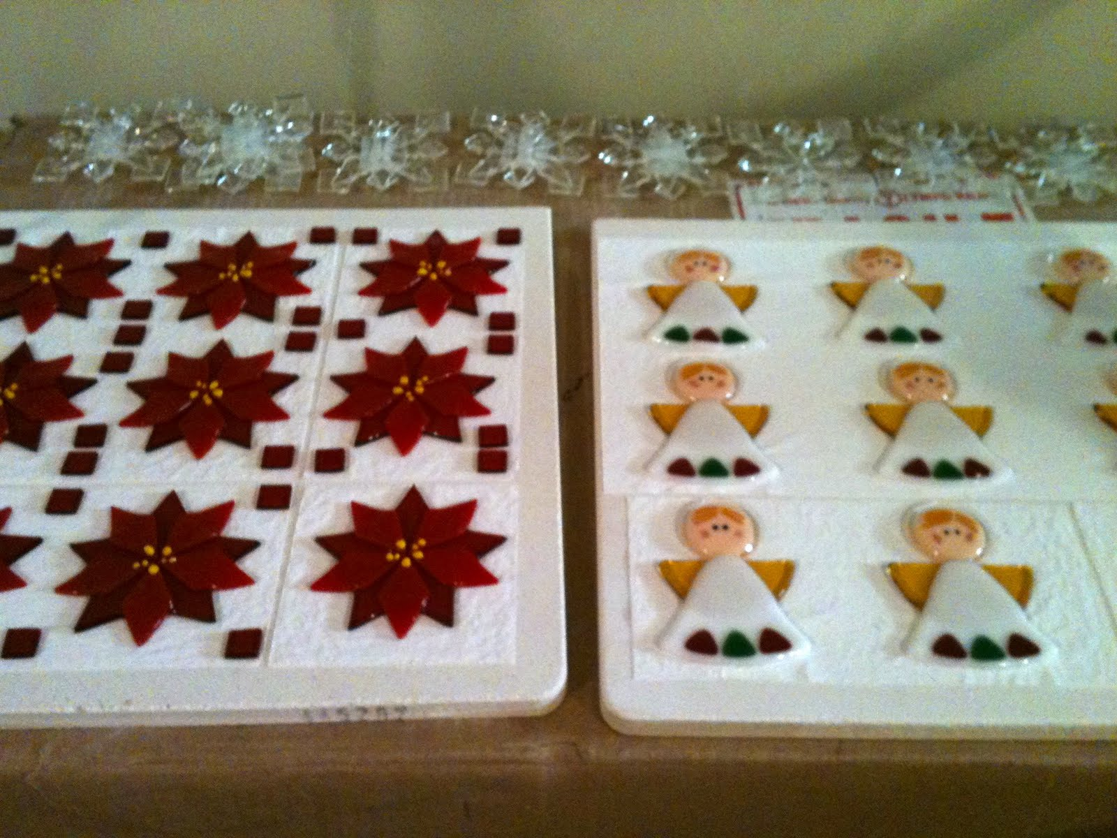 gearing up for the holidays with fused glass ornaments