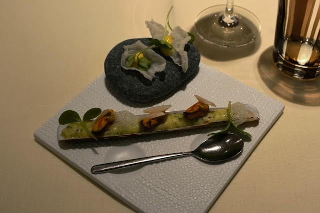 Sea Grill Brussel Amuse mussels