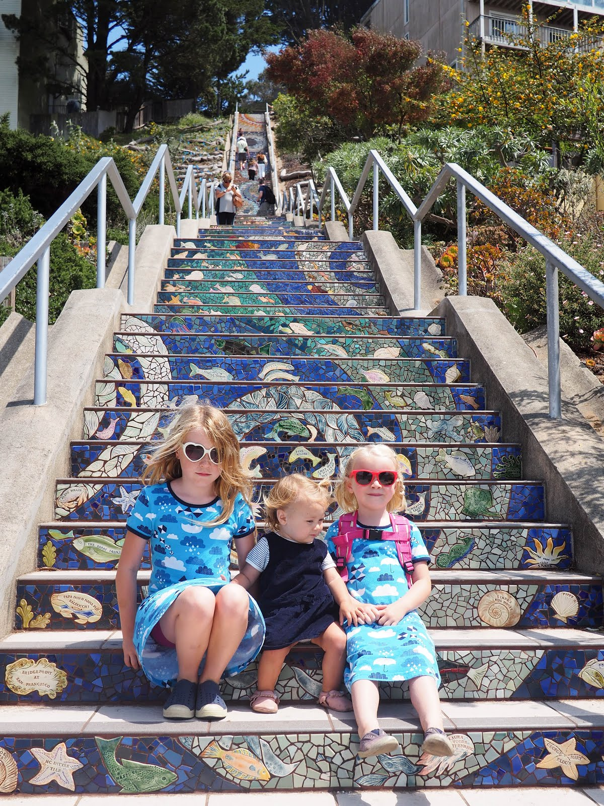 Tiled Staircases in San Francisco