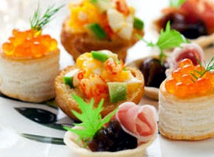 Canapés et Apéritifs de la Maison