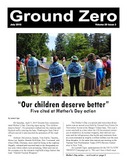 Read the Ground Zero Newsletter