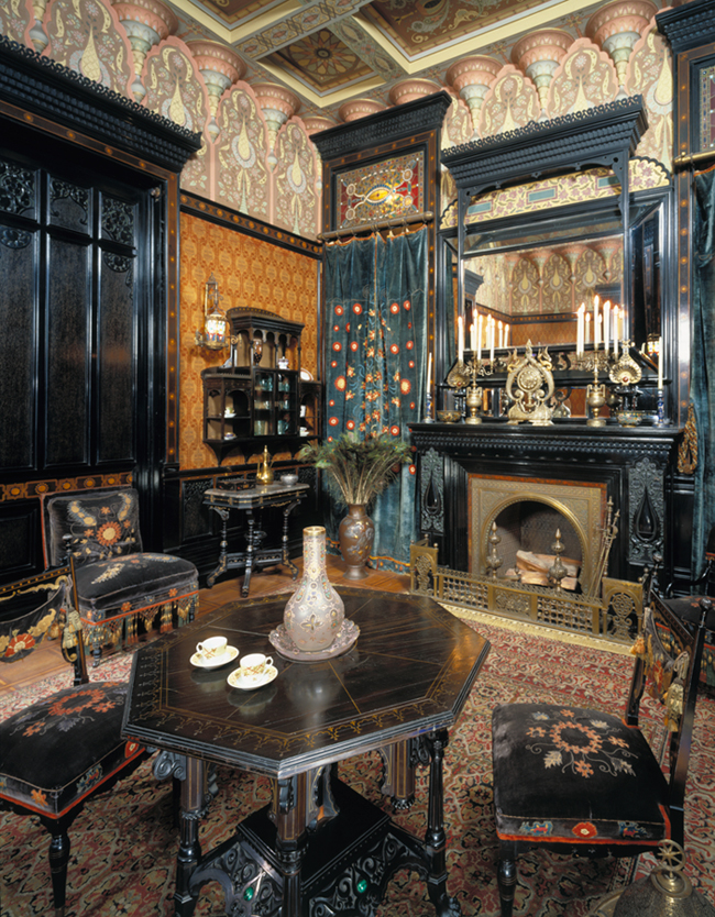 Daytonian in manhattan the lost john d rockefeller for Period dining room ideas
