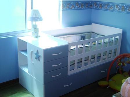 Cama cunas para beb s ni as imagui - Cunas y muebles para bebes ...