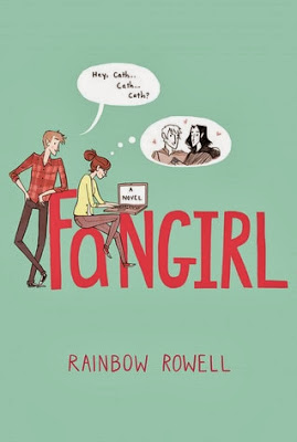 Fangirl Rainbow Rowell book cover