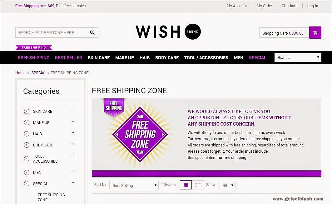 Wish Trend - Website Introduction
