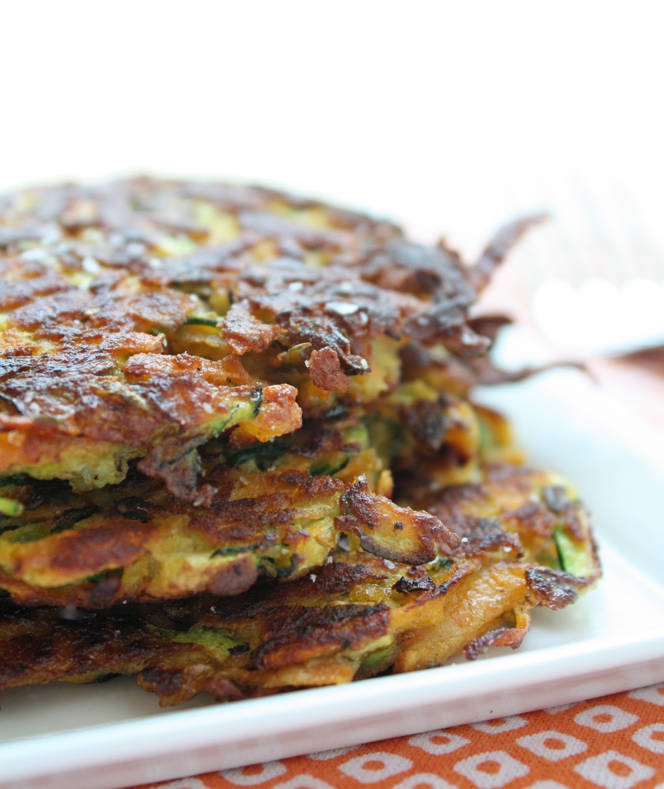 Sweet Potato Latkes Zucchini & sweet potato latkes i breathe i'm ...