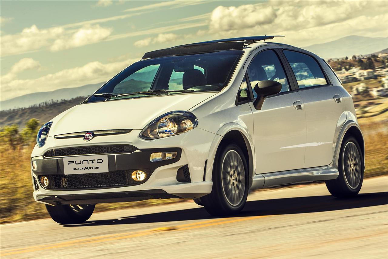 novo Fiat Punto Blackmotion 2014 dianteira