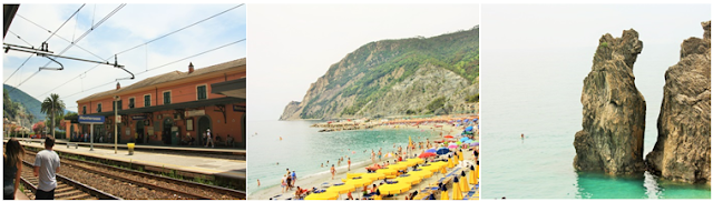 Monterosso Al Mare collage