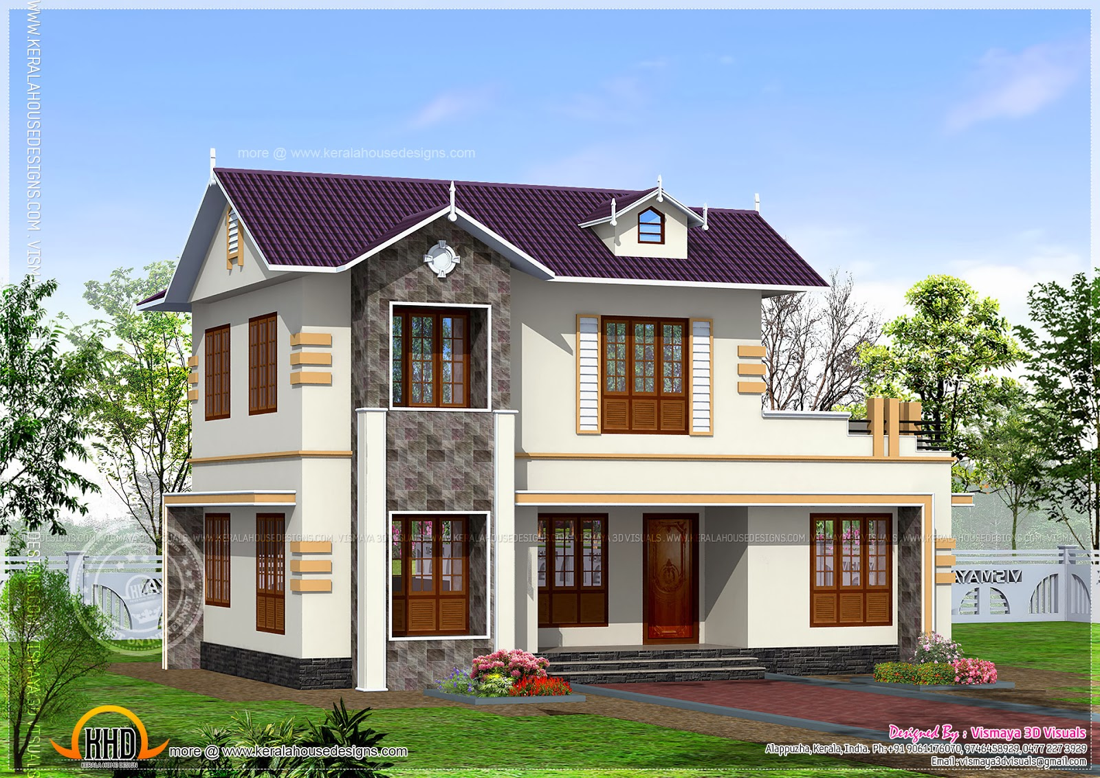 December 2013 kerala home design and floor plans for 1700 square feet house plans