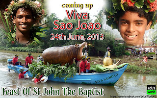 feast day of st john the baptist