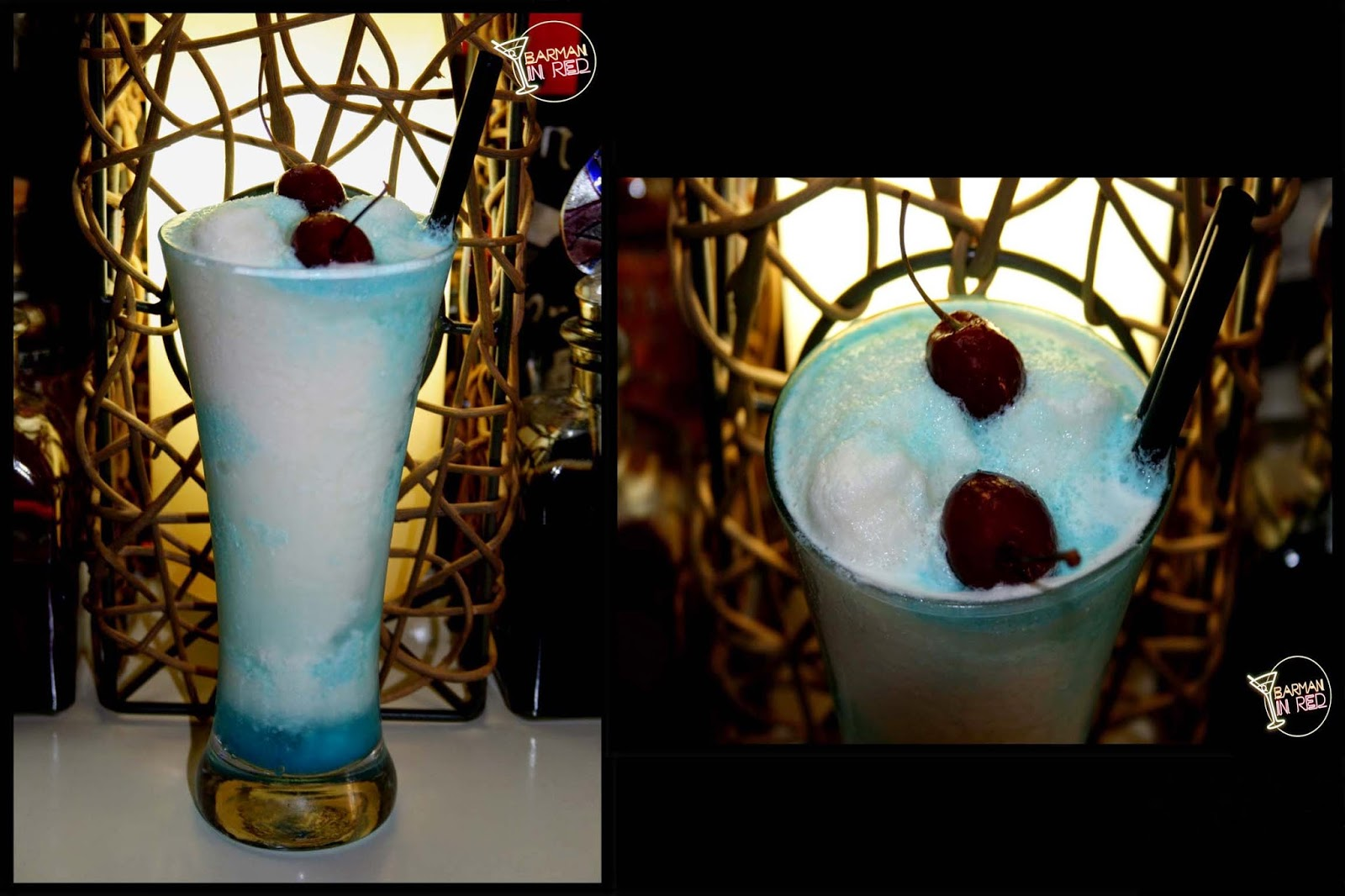 kiss blue cocktail