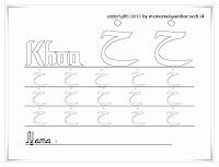 Huruf Hijaiyah Khoo