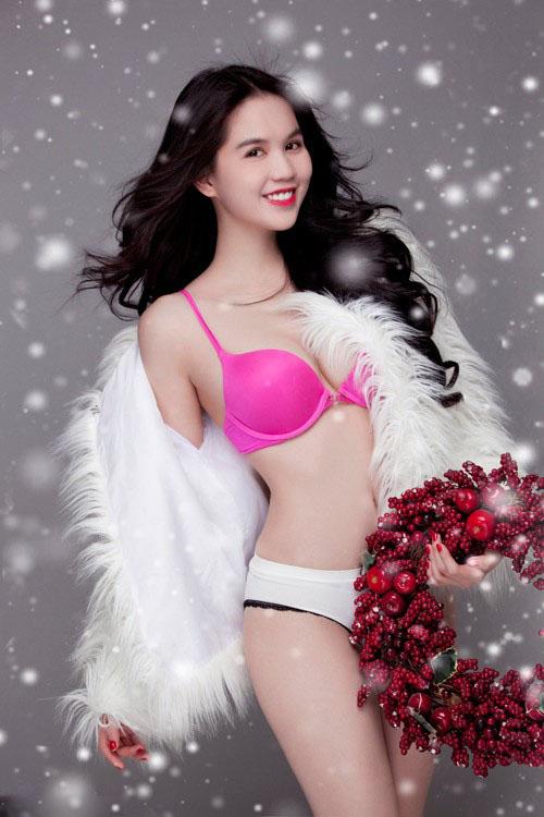 Ảnh gái đẹp HD Ngọc Trinh khoe thân 6