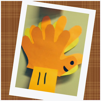 Fall Hand Turkey