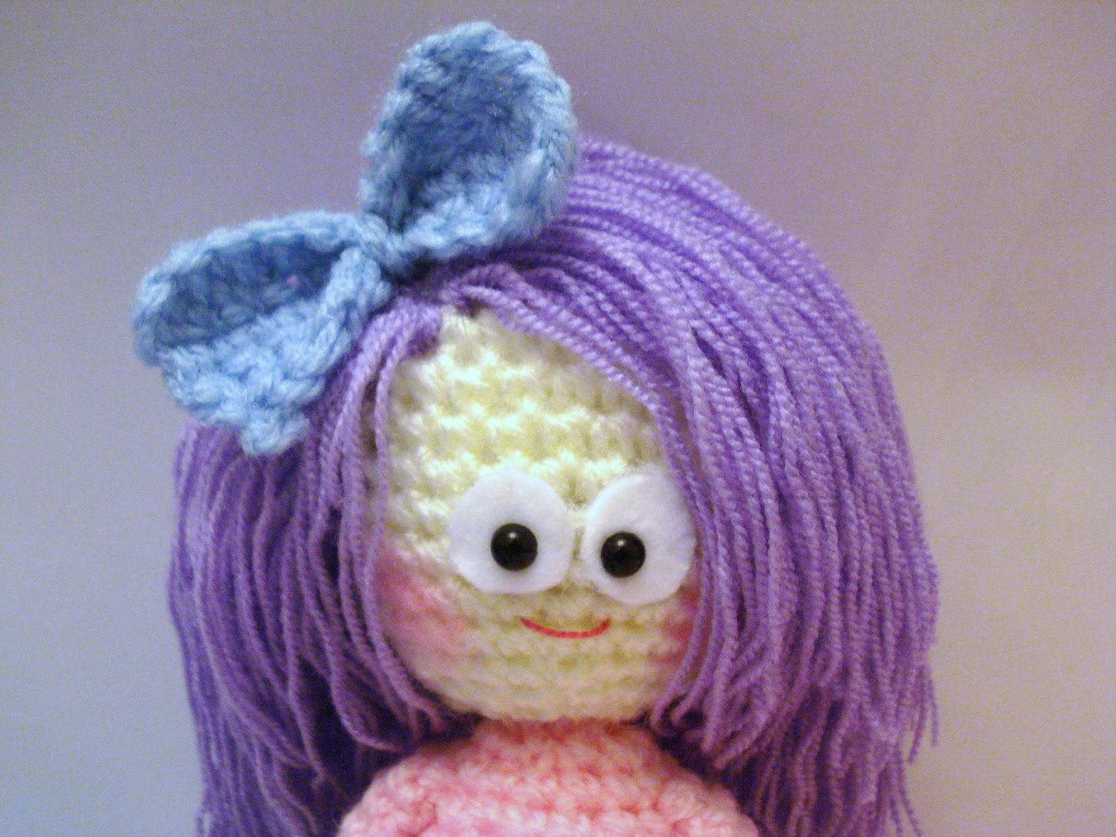 Amigurumi Pattern Girl : AllSoCute Amigurumis: Crochet Girl, Doll Pattern ...