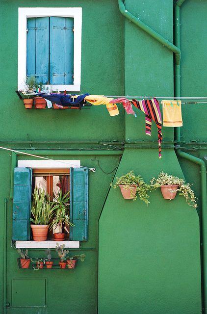 Burano Island,Venice,Italy