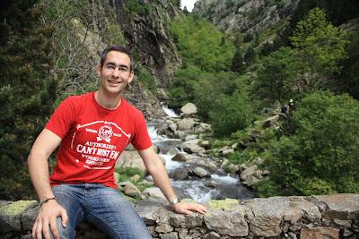 La Vall de Núria in the Pyrenees