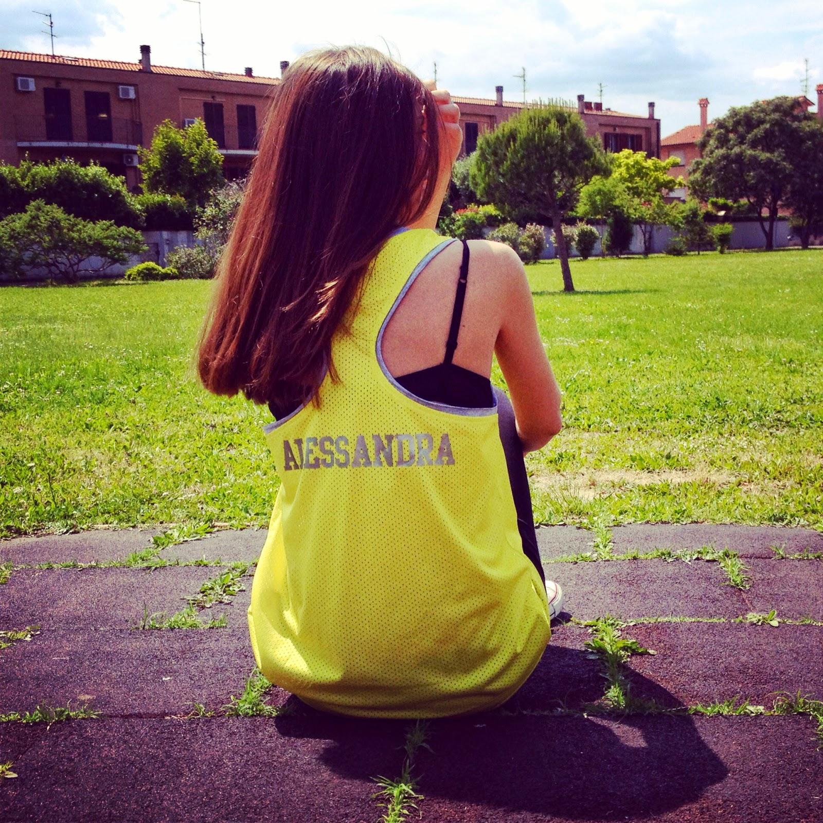 Alessandra 39 s fashion la mia canotta personalizzata di for La mia casa personalizzata