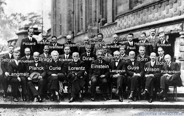 Persidangan Solvay (1927) Perhimpunan Genius