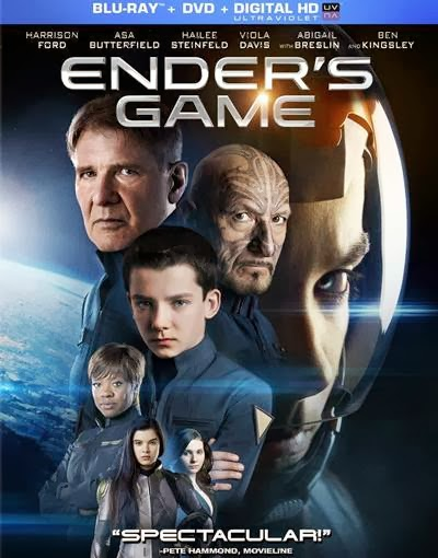Ender's Game (+UltraViolet Digital Copy) [Blu-ray]  Starring Harrison Ford, Asa Butterfield, Hailee Steinfeld