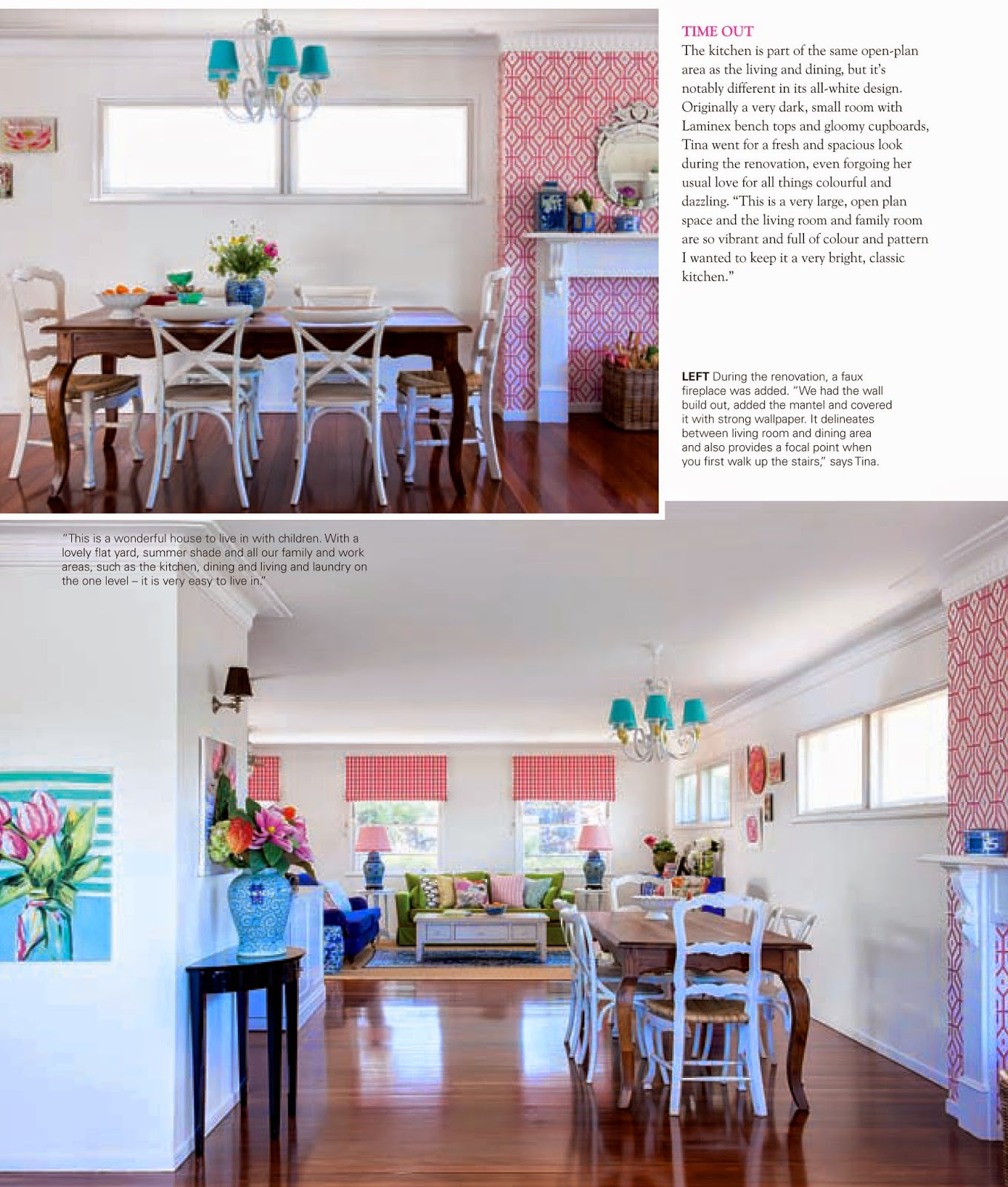 lady chatterley's affair: lca featured in modern home magazine