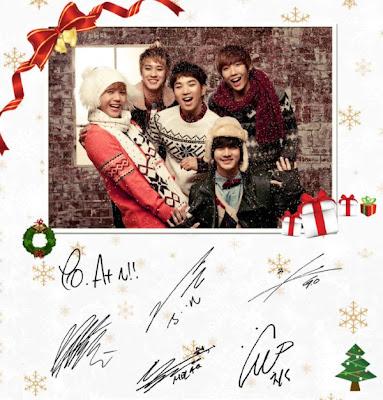 MBLAQ members Christmas single White Forever