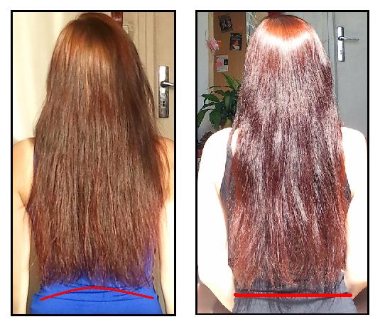 Couper pointes cheveux droit