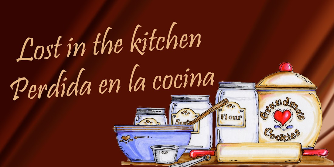Lost in the kitchen-Perdida en la cocina
