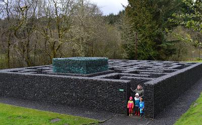 Minotaur maze Kielder