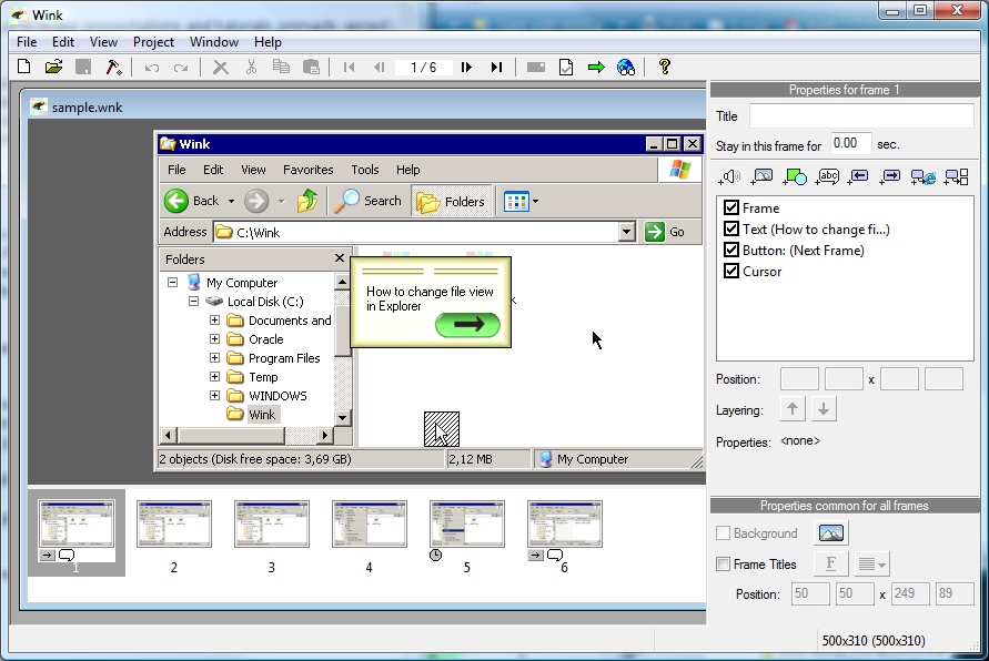 Download Wink Software Perekam Aktivitas Desktop