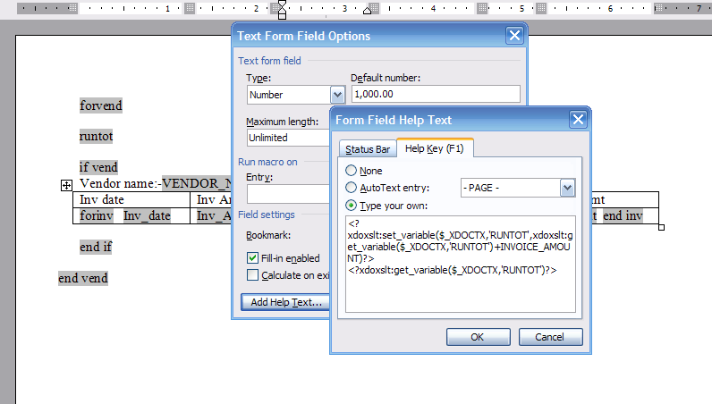 Oracle concepts for you running column totals in xml for How to create rtf template for xml publisher