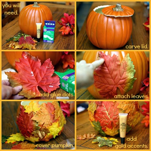 Diy thanksgiving pumpkin vase centerpiece ilovetocreate