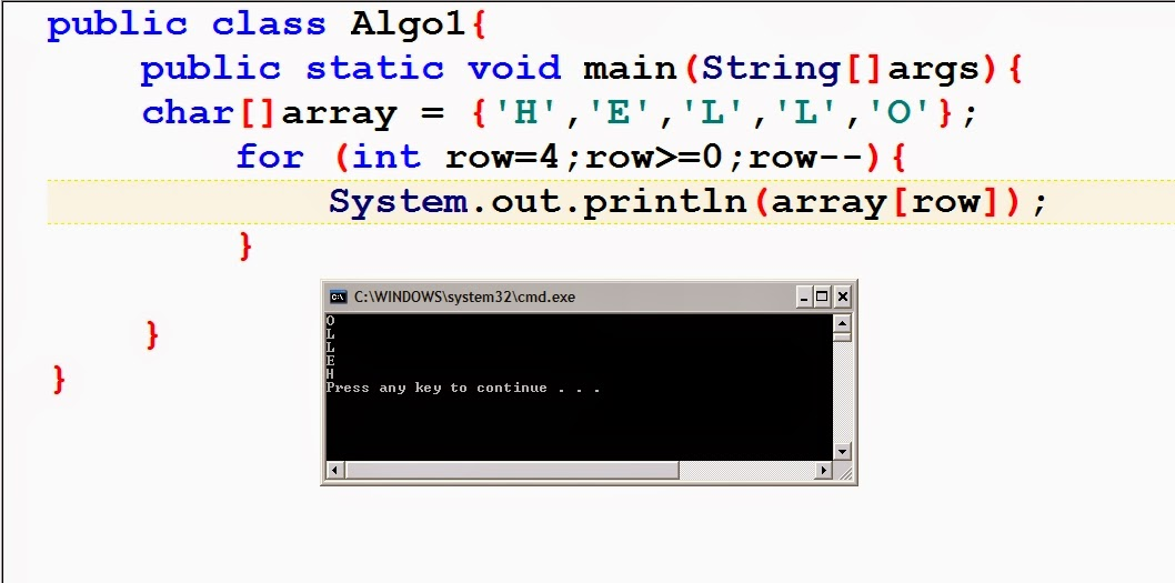 how to get element at index i in arraylist java