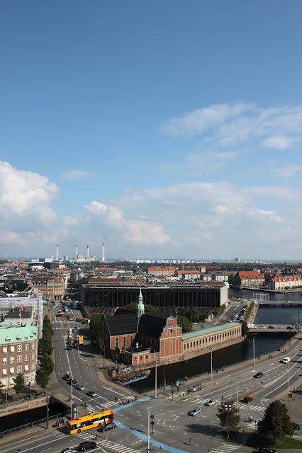 Schloss Christiansborg Tårnet | Blick nach Osten