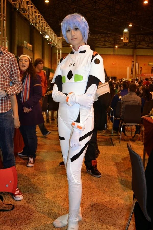Cosplay de Rei Ayanami en Mangafest 2013