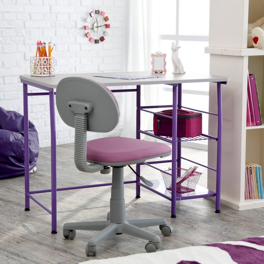 Kids' & Teens' Small Desk and Chair Sets for Small Bedroom ...