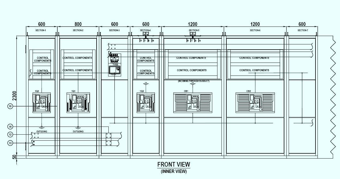 Electrical Switchboard Drawing Switchboard Shop Drawings