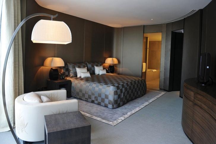 Hotel room in Armani Burj Khalifa Hotel Dubai