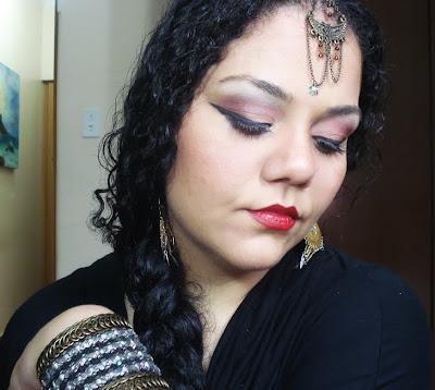 Tutorial maquiagem Arabe, dança do ventre