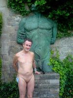 naturist, nudist, Abbey House, clothes optional, family naturism, naked man, naked boy