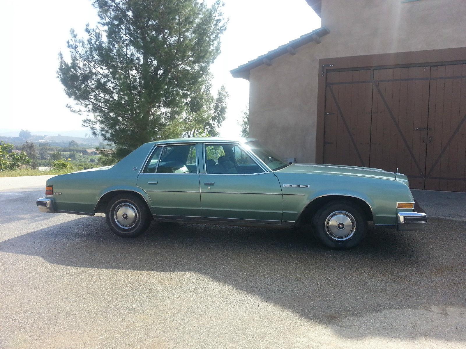 All American Classic Cars 1977 Buick LeSabre 4 Door Sedan