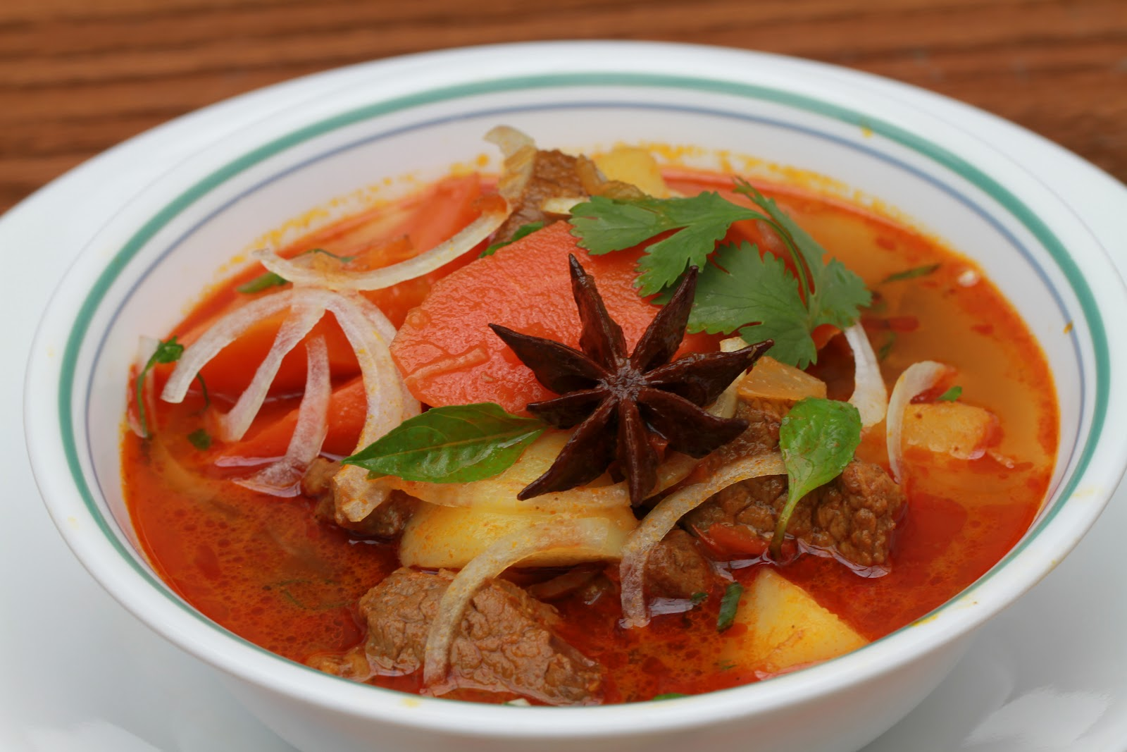 Vietnamese Soul Food: Vietnamese Beef Stew with Star Anise- Bo Kho