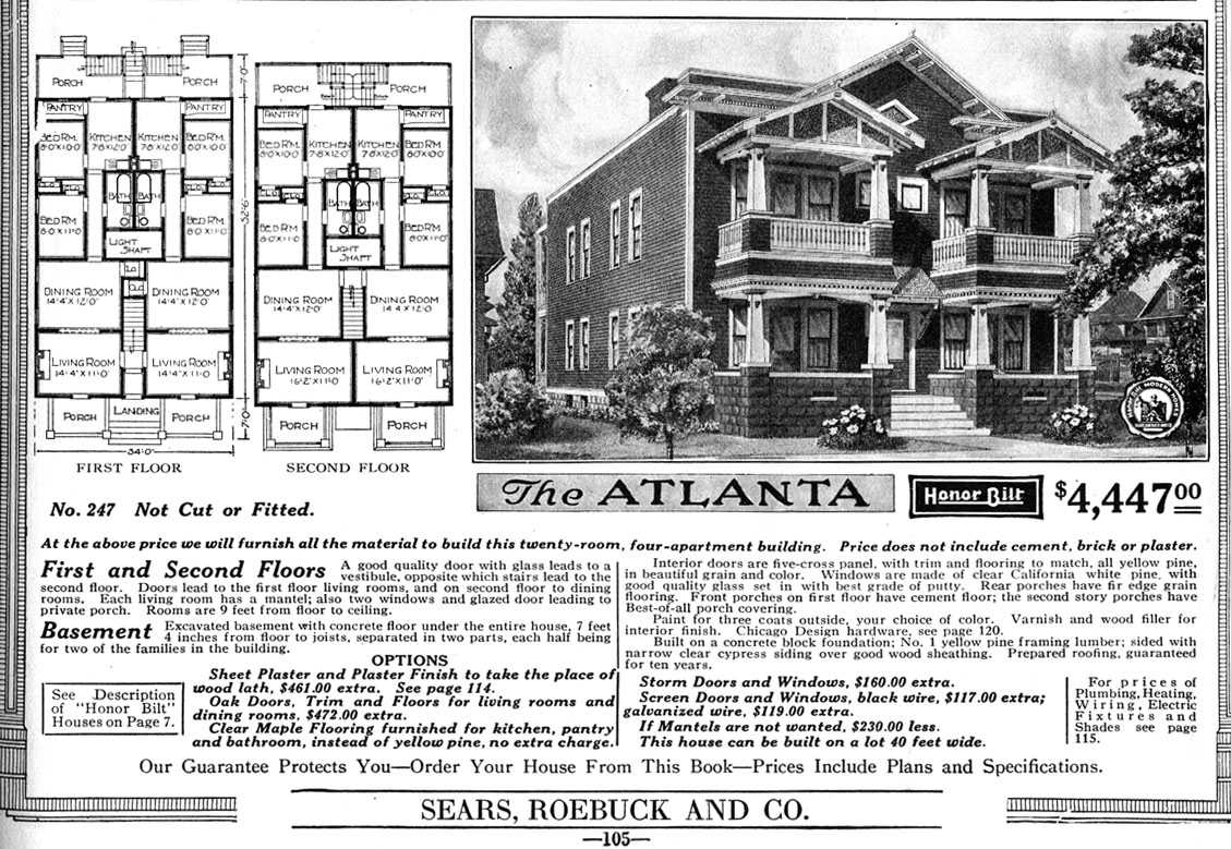 United states navy quonset huts chronology of sears for Atlanta house plans