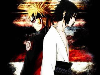 Gambar Naruto vs Sasuke wallpaper keren