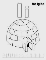 Printable Alphabet Coloring Pages Igloo