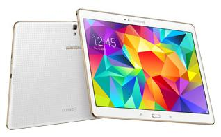 Samsung Galaxy Tab S 10.5 LTE (rear)